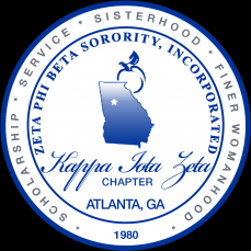Zeta Phi Beta Sorority, Inc. Kappa Iota Zeta Logo