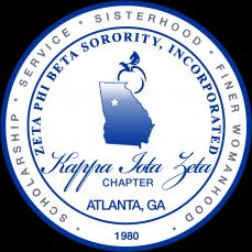 Zeta Phi Beta Sorority, Inc. Kappa Iota Zeta Logo