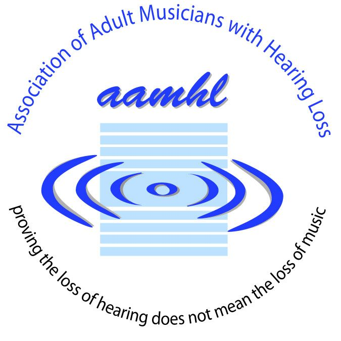 Association of Adult Musicians with Hearing Loss Logo