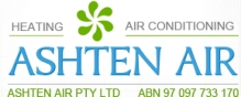 Industrial Air Conditioning Units from Ashten Air Logo
