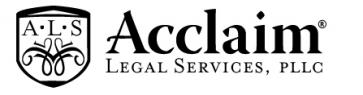 Acclaim Legal Services Logo