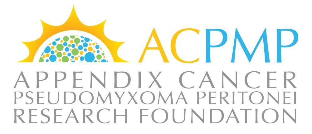 Appendix Cancer / Pseudomyxoma Peritonei Research F Logo