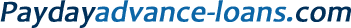 Payday Advance Loans COM Logo