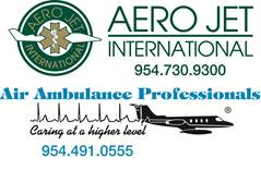 Aero Jet International/Air Ambulance Professionals Logo