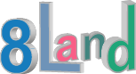 8land games studio Logo