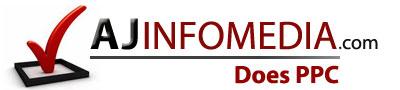 A J INFOMEDIA Logo