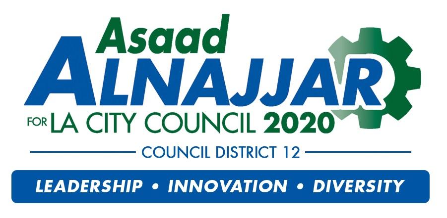 Asaad Alnajjar for City Council 2020 Logo