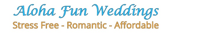 Aloha Fun Weddings - Rewv. Stefan Logo