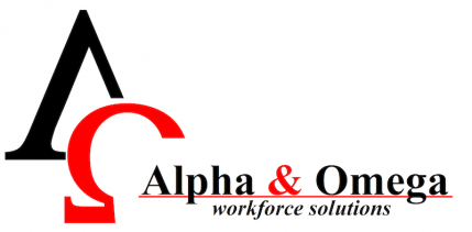 Alpha & Omega Workforce Solutions Logo