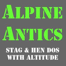 Alpine Antics Logo