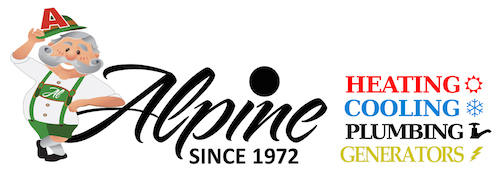Alpine Refrigeration: Heating, Cooling, Generators Logo