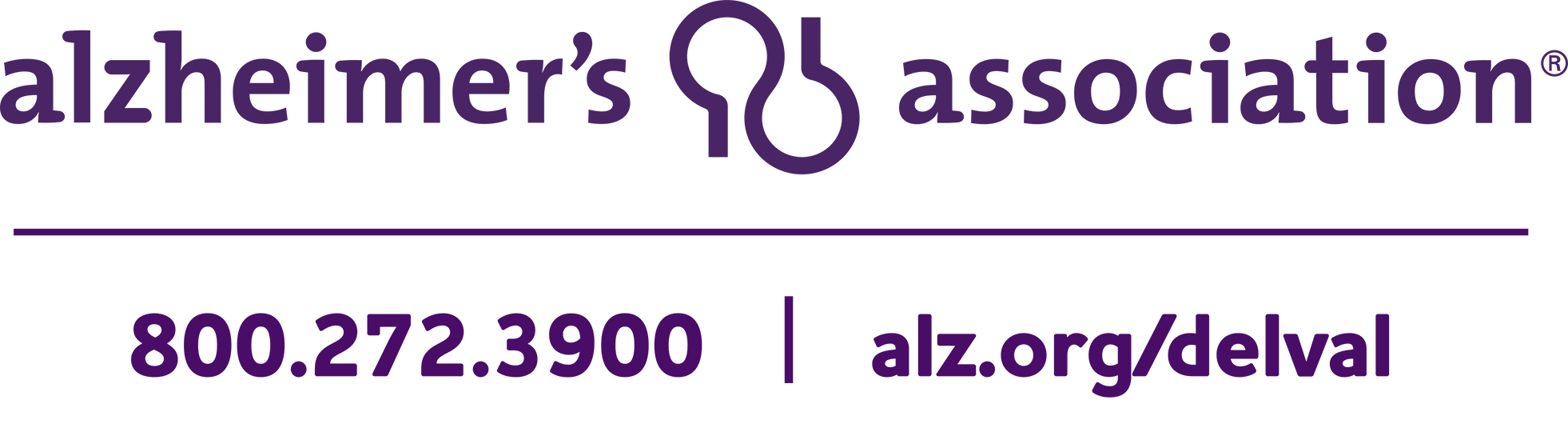 Alzheimer's Association Delaware Valley Chapter Logo
