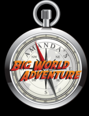 Amanda's Big World Adventure Logo