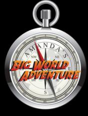 Amanda's Big World Adventure Logo