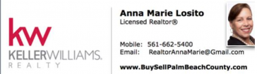 Anna Marie Losito of Keller Williams Realty Logo