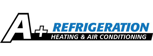 A+ Refrigeration Heating & Air Conditioning Logo