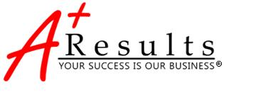 A+ Results, LLC Logo