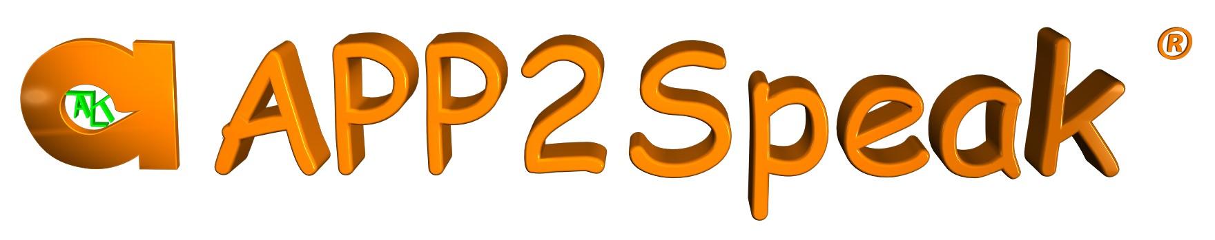 APP2Speak Logo