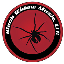 Black Widow Music, LLC Logo