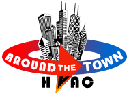 Around The Town Logo