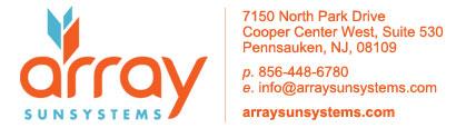 Array Sunsystems Logo
