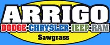 Arrigo Dodge Chrysler Jeep Ram at Sawgrass Logo