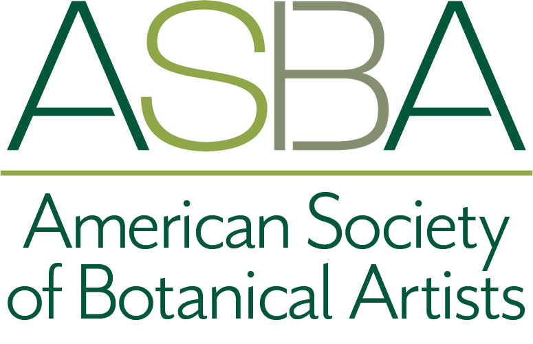 American Society of Botanical Artists Logo