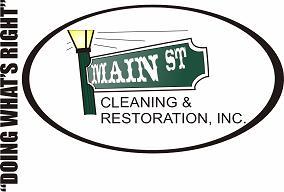 Mainstreet Cleaning & Restoration Logo