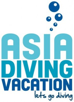Asia Diving Vacation Logo
