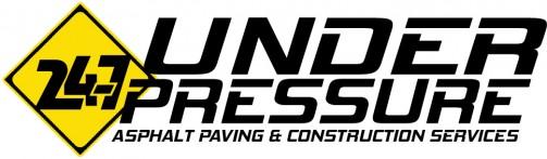 San Antonio Asphalt Paving, 24-7 Under Pressure Logo