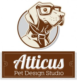 Atticus Pet Design Studio Logo