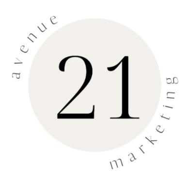 Avenue 21 Marketing Logo