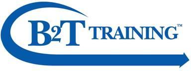 B2T Training Logo
