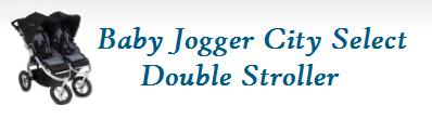 Baby Jogger City Select Double Stroller Logo
