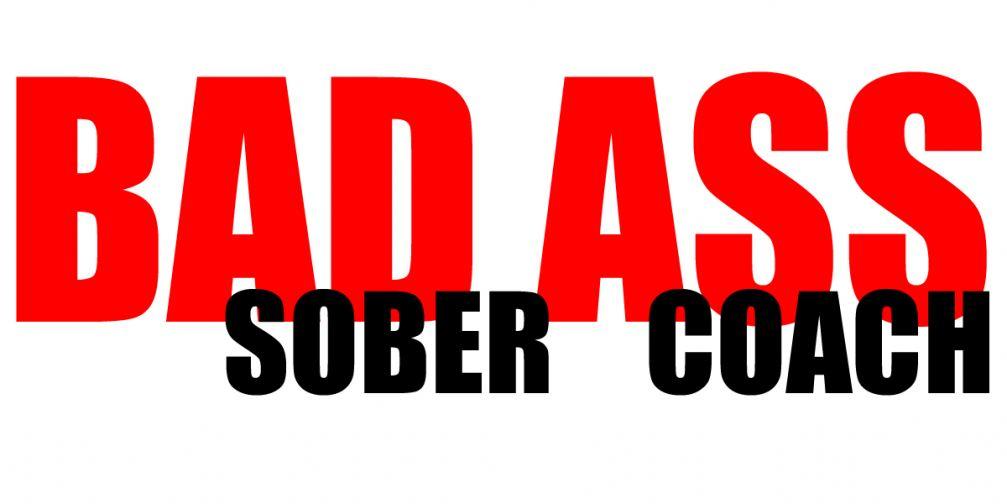 JT Morgan: The Bad Ass Sober Coach Logo