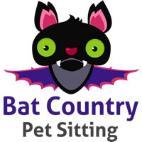 Bat Country Pet Sitting Logo