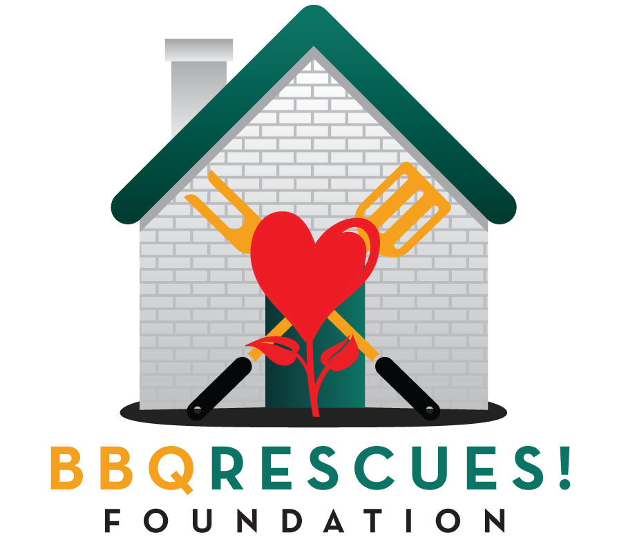 BBQ RESCUES! Logo