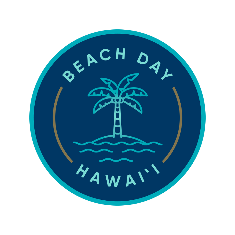 Beach Day Hawai'i Logo