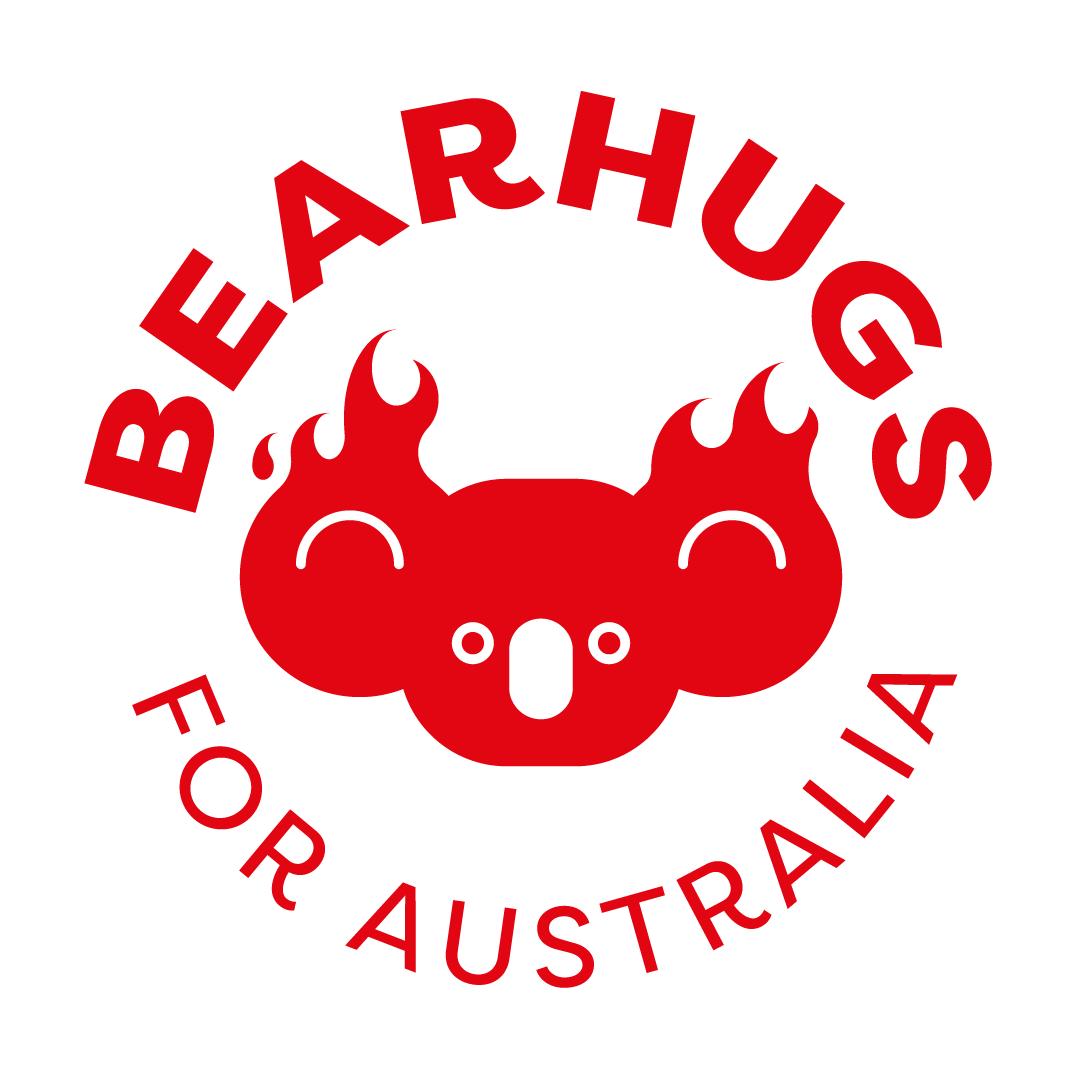 Bearhugs for Australia Logo