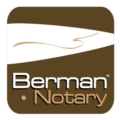Berman Notary Logo