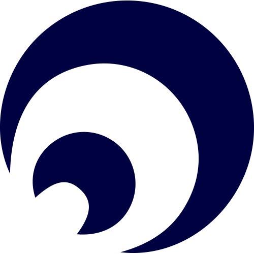 Custom Blue Media Logo