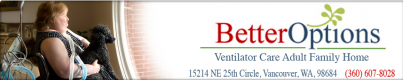 Better Options Ventilator Care Homes Logo