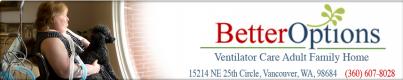 Better Options Ventilator Care Homes Logo