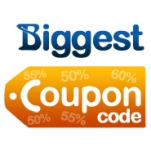Biggest Coupon Code Logo
