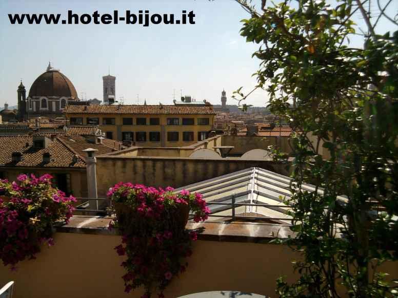 Bijou Hotel** Florence Italy Logo