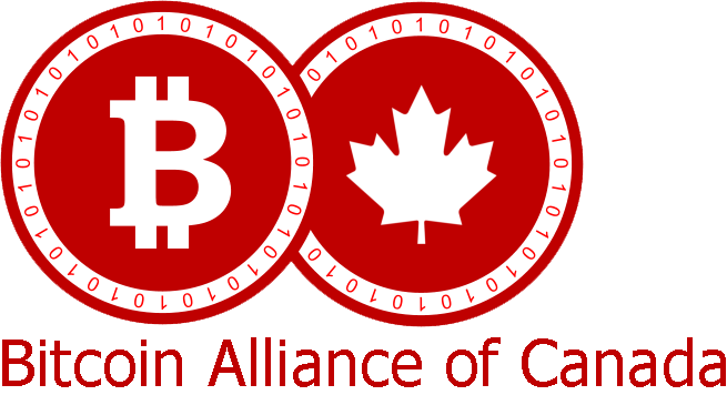 Bitcoin Alliance of Canada Logo