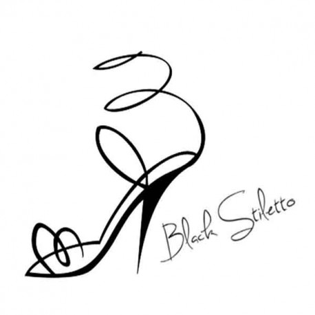 Black Stiletto PR Logo