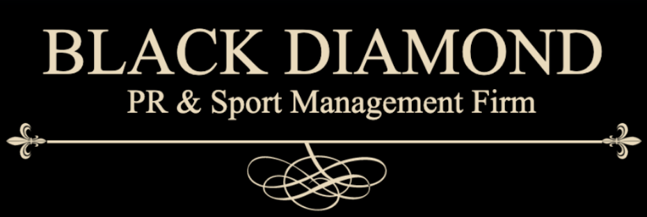 Black Diamond PR & Sports Management Firm Logo