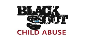 The Official Blackout Child Abuse Logo