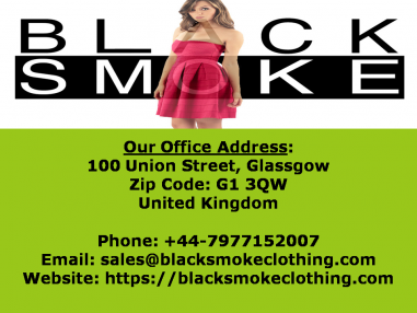 blacksmokeclothinguk Logo